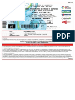 Billet Electronique 5455184