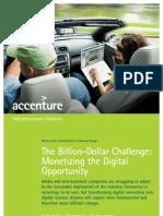 Accenture Billion Dollar Challenge Monetizing the Digital Opportunity