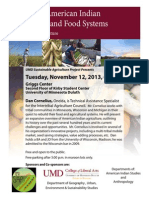 Exploring American Indian Agriculture and Food Systems