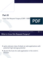 PHP Security Crash Course - 3 - CSRF