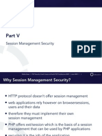 PHP Security Crash Course - 5 - Session Management