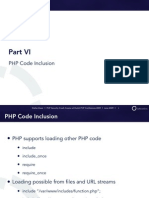 PHP Security Crash Course - 6 - PHP Code Inclusion / Evaluation