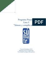 Programa Lista Súmate CEE Ingeniería Civil en Computación UTEM
