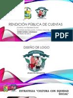 Rendición pública de Cuentas_Cultura