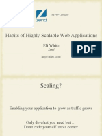 Habits of Highly Scalable Web Applications