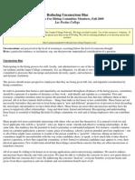 Reducing Unconscious Bias Resource for Hiring Committee Members-F09