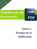 Tema 1 - Energía en la edificación