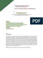 El enfoque sociocultural en el estudio de la educación