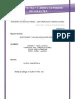 Auditoria en Telecomunicaciones