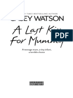 Casey Watson - A Last Kiss For Mummy - Extract
