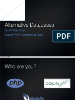 Alternative Databases