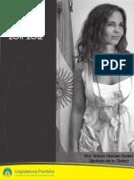 Informe de Gestión 2011 - 2012