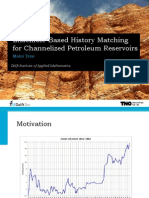 Ensemble-Based History Matching for Channelized Petroleum Reservoirs (slides)