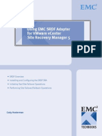 VMWare Site Recovery Manager with SRDF Version 2