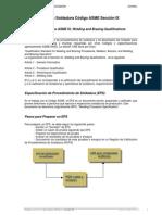 Calificacion Codigo Asme Ix