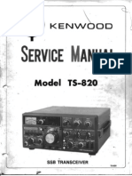 Kenwood TS820 Service Manual
