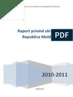 Raport Privind Saracia in Republica Moldova 2010 2011