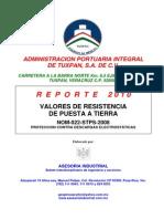 EJEMPLO Medicion de Resistencia Tierra NOM-022-STPS