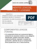 COMPONENTES LEXICOS, PATRONES Y LEXEMAS.pptx
