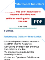 3 Choosing Performance Indicators Day One 9AM