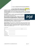 17025 Cal Checklist