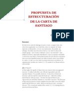 Conti C. - Propuesta de Estructuracion de La Carta de Santiago