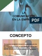 La Comunicacion en La Empresa
