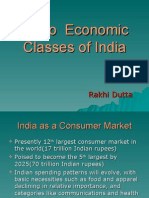 Socio Economic Classes of India