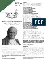 Novena ao Papa João Paulo II