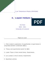 6 Liquid Helium 4