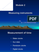 Measuring Instruments by Dr. P E Mohammed