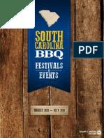 BBQ Events in South Carolina 2013 - 2014
