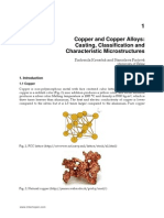 InTech-Copper and Copper Alloys Casting Classification and Characteristic Microstructures