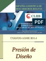 PRESENTACION ASME B31.4