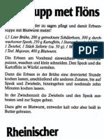 Deutsche Küche - Rheinisches Kochbuch