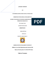 CUSTOMER SATISFACTION LEVEL OF PIZZA HUT.doc