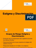6estigma y Discriminacion