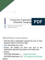 ch 7b -shift instructions