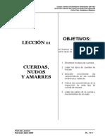 Pl-11 Cuerdas Nudos y Amarres