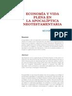 Miguez N. -Economia y Vida Plena en El Apocalipsis