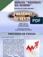 3.1-3.2-3.3-3.4 La Prevision de Ventas