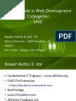 CodeIgniter MVC - Rowen Iral