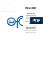 Biochemistry relatory. Cromatography