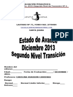 Estado de Avance 2013 Nt2