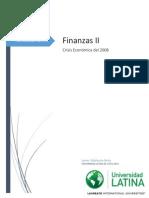 Crisis Financiera 2008 Costa Rica