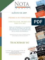 Brochure de Suscripción 2009