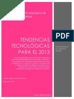 Tendencias tecnologicas 2013