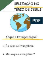 Evangelização no Ministério de Jesus