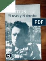 Camus Albert - El Reves Y El Derecho (Scan)