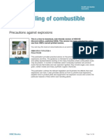 HSE COmbustible Dust Assesment